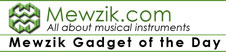 New!! Mewzik Gadget of the Day!