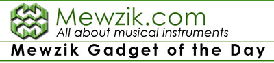 NEW!! Mewzik Gadget of the Day